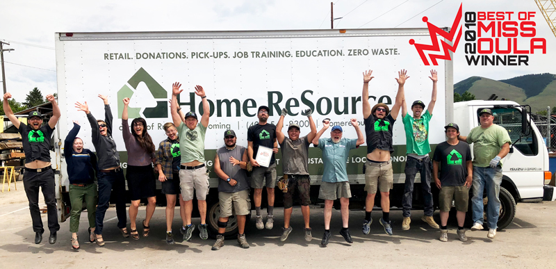 Home ReSource celebrates winning 2018 Best Green Business