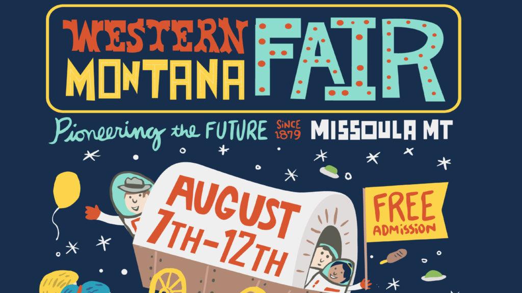 2018 Western Montana Fair poster