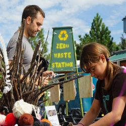 zero waste station at sponcon